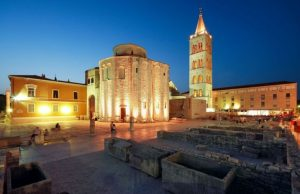 Zadar Croatia at Night