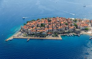 Zadar Croatia from Above